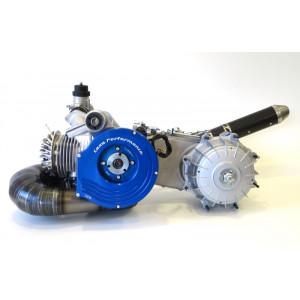 Motore completo Casa Performance SS225 5 marce Racing per Lambretta S1 + S2 + TV2 + S3 +TV3 + Special + SX + DL + Serveta
