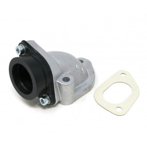 Collettore aspirazione Casa Lambretta X12 per carburatori 26/28/30mm per kit Casa185 + Lambretta 125/150/175cc