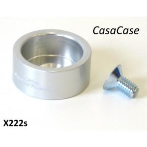 Porta tampone fine corsa (anodizzato argento) per blocco motore CasaCase