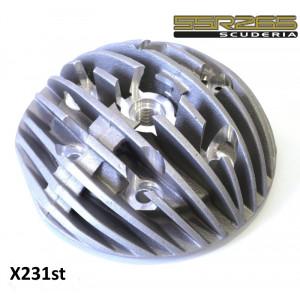 Testa radiale Casa Performance per cilindro SSR265 Scuderia, candela centrale