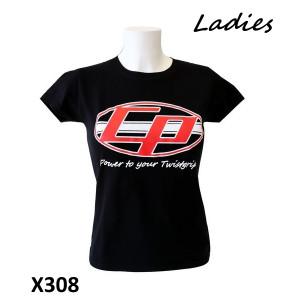Maglietta Donna 'Casa Performance' nera con logo ovale