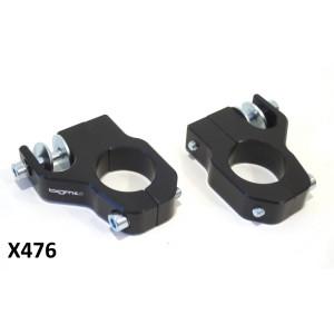 Staffe BGM CNC Nere per ammortizzatori supplementari ant. Lambretta S1 + S2 + S3 + SX + Special + DL + Serveta
