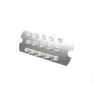 Parabola posteriore a LED 12V per Lambretta S3 +  SX + TV  + Special + DL