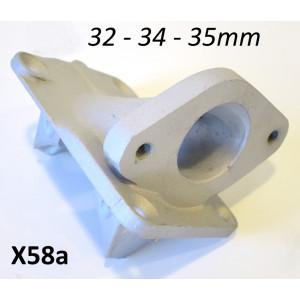 Collettore aspirazione Casa Performance per carburatori 32, 34 & 35mm per kit cilindro SS200 + SS225 + SSR250 + SSR265 Scuderia + SST265