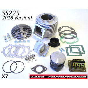 Kit cilindro Casa Performance SS225 per Lambretta SX + DL + Serveta (carter motore tipo 200cc)