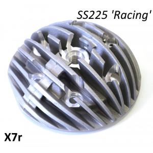 Testa Casa Performance Radiale, candela centrale, per kit cilindro SS225 per Lambretta TV200 + SX + DL + Serveta 200cc
