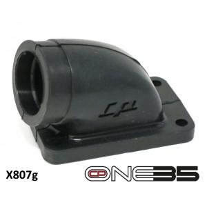 Collettore in gomma per carburatore 24/25mm per kit 'CP One35' Lambretta J + Lui