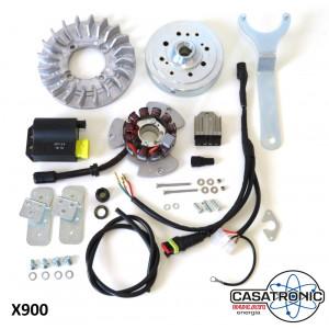 Accensione elettronica Casa Lambretta Casatronic Ducati Standard per Lambretta S1 + S2 + TV2 + S3 + TV3 + Special + SX + Serveta