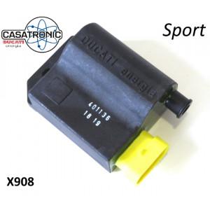 CDI tipo 'Sport' per accensione elettronica 'Casatronic Ducati'.