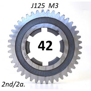 Ingranaggio 2a. marcia z42 per Lambretta J125 M3 (3 marce)