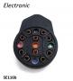 Morsettiera portacavi Scootopia, tipo tondo 'Electronic' per accensione elettronica