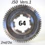 Ingranaggio 2a. marcia z64 per Lambretta J50