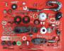 Kit motore completo da assemblare Casa Performance SST265 per Lambretta S1 + S2 + S3 + DL