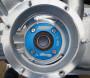 Flangia porta-paraolio Casa Performance SuperSeal in alluminio CNC Lambretta S1 + S2 + S3 + SX + DL + Serveta