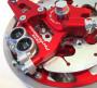 Pinza freno radiale monoblocco a 4 pistoncini + vite + 'OR' per Casa Performance CasaDisc