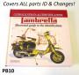Libro 'Lambretta. Guida Illustrata all'identificazione' di Vittorio Tessera