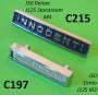 Targhetta 'Innocenti' per scudo Lambretta J50 Deluxe + J125 M4 Stellina