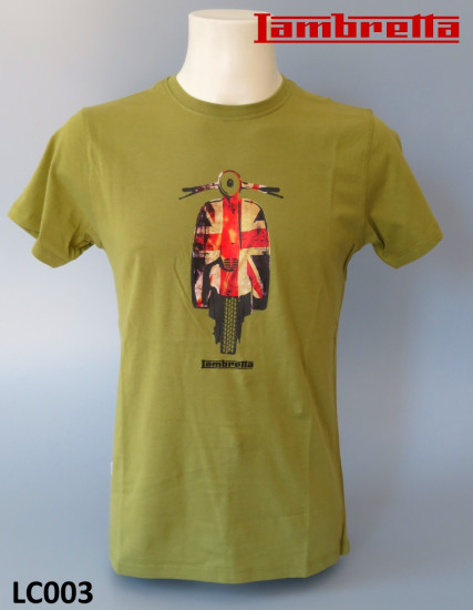 'Union Scooter Mosstone' T shirt by Lambretta