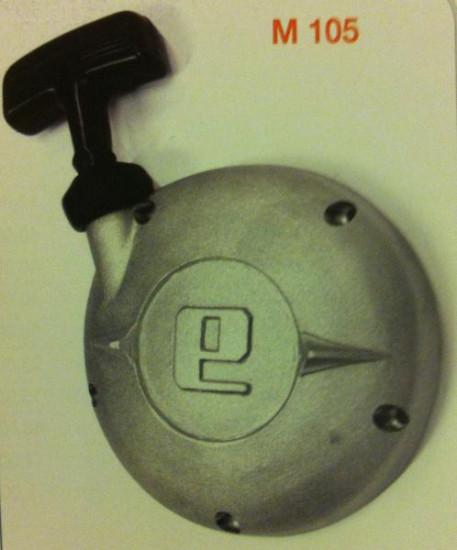 Complete hand-pull starter unit Lambretta E