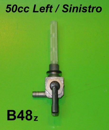 6mm petrol tap - Left exit - Lambretta Luna + Lui 50cc