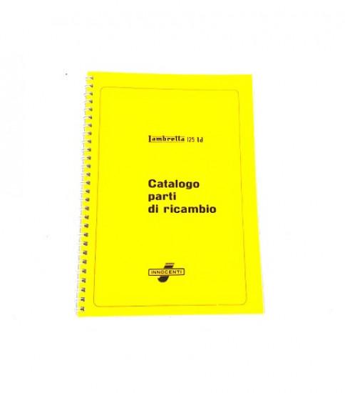 Spare parts book Lambretta LD125
