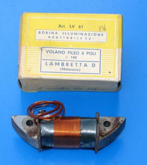 Lighting coil Filso flywheel 4 pole Lambretta FD