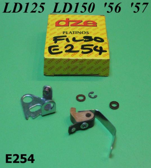 Points for Filso ignition Lambretta LD125 LD150 '56 '57