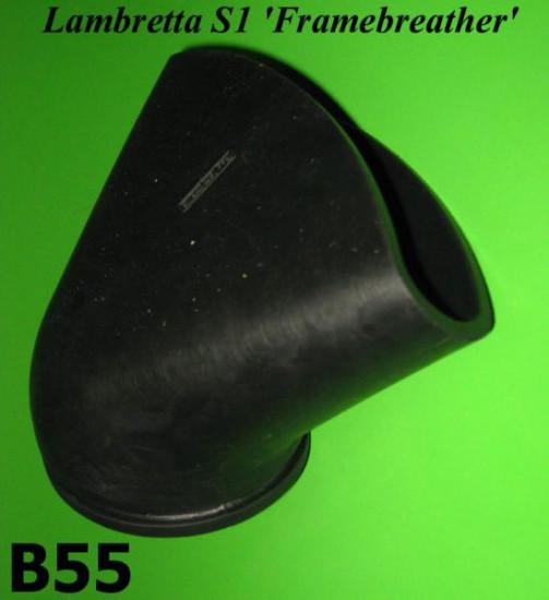 Rear rubber hose Lambretta S1 Framebreather