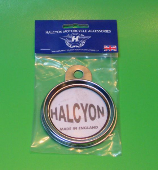 Halcyon tax disc holder Lambretta Vespa