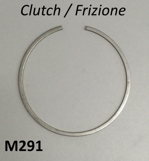Large central clutch circlip