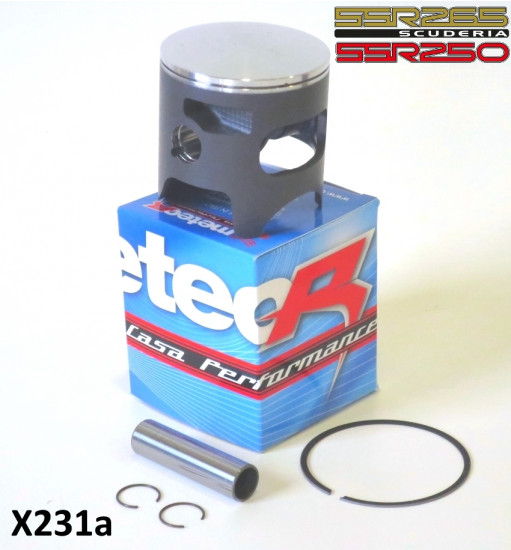 Complete 70mm piston kit for SSR250 + SSR265 Scuderia 32mm compression height SINGLE RING