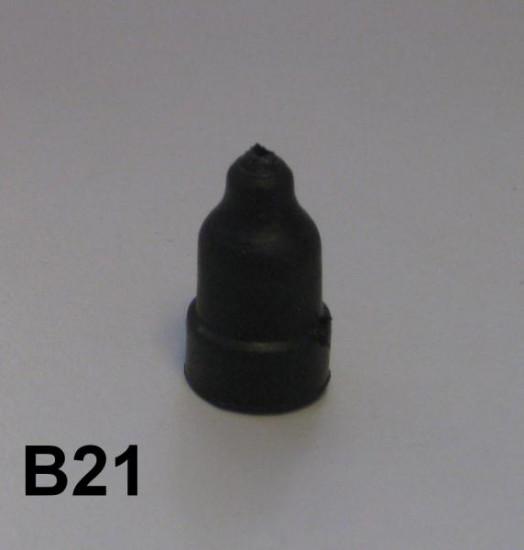 Throttle cable rubber cap Lambretta D + LD + S1 + S2 + S3 + SX + DL/GP