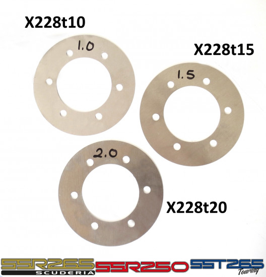 Cylinder head gasket for SSR250 + SSR265 Scuderia + SST265 kits (choice of thickness)