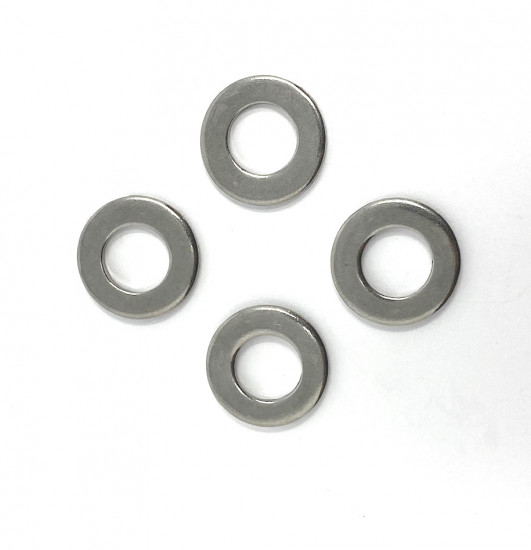 Set 4 x special washers for front hub + fork links