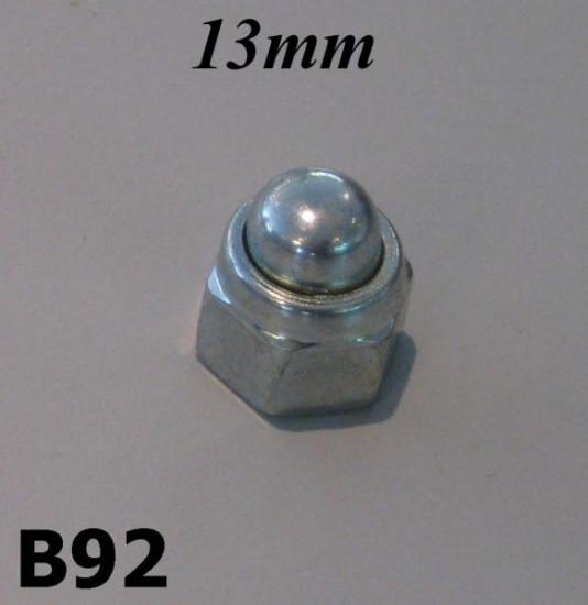 Rim domed nut 13mm Lambretta S3 + SX + TV3 + DL / GP + J