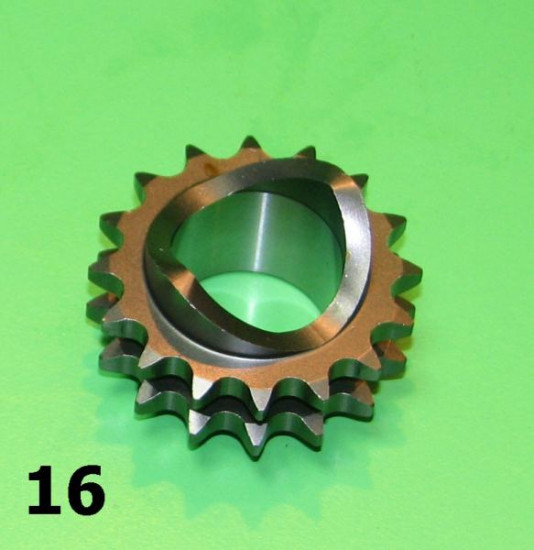 High quality  16T front sprocket