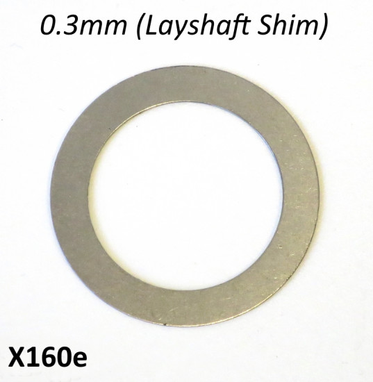 Special 0.3mm LAYSHAFT shim for Cyclone 5 Speed gearbox