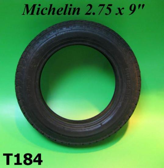"2.75 x 9"" Michelin ACS 9 inch tyre for Lambretta J50 models"