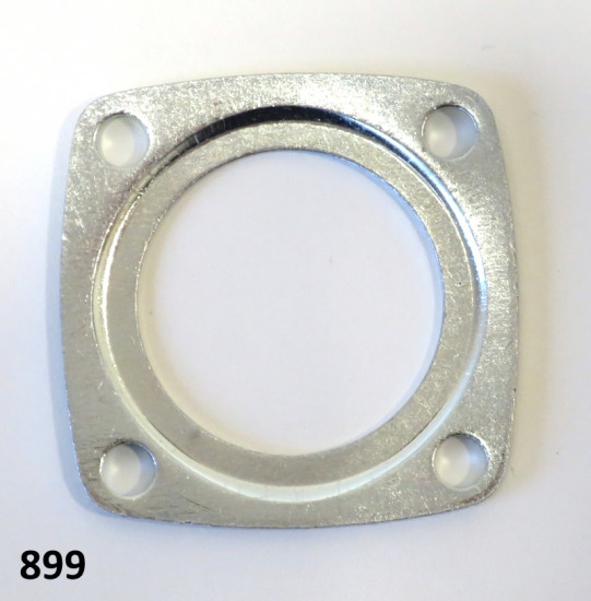Rear wheel axle bearing flange Lambretta J + Vega