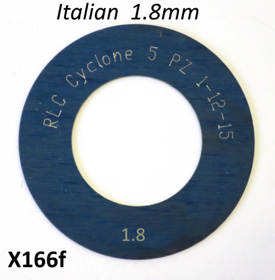 High quality Italian made 1.8mm 1st gear shim
