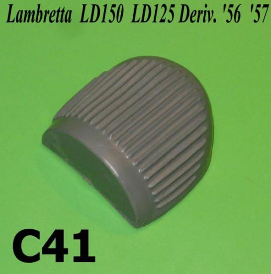 Protezione pedale avviamento per Lambretta LD125 Deriv./ Vers. '56 '57 + LD150