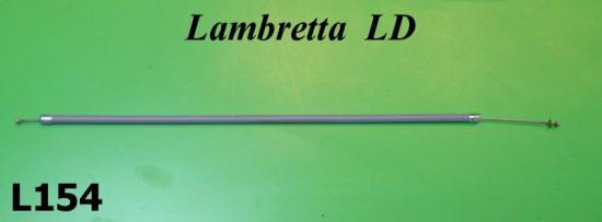 Complete choke cable Lambretta LD