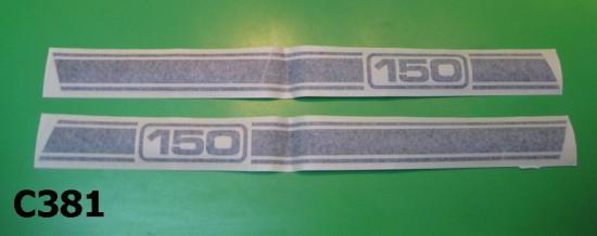 """Strisce adesive cofani laterali Lambretta Serveta """"150"""""""