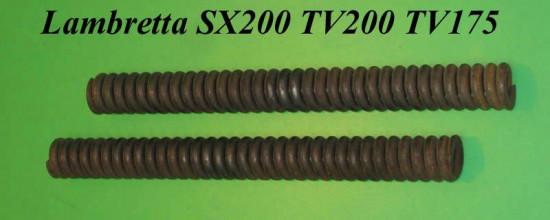 Pair of oiriginal front fork springs Lambretta SX200 TV200 TV175 S3