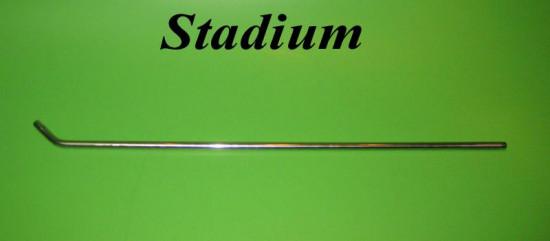 "High quality 22"" long chromed Stadium mirror stem"