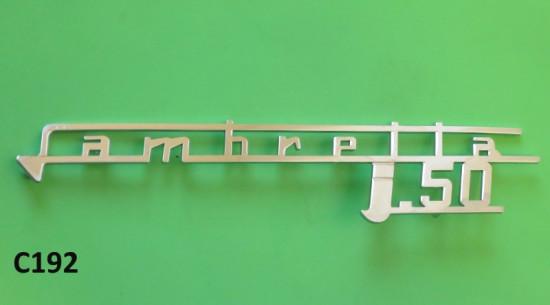 Lambretta J50 legshield badge
