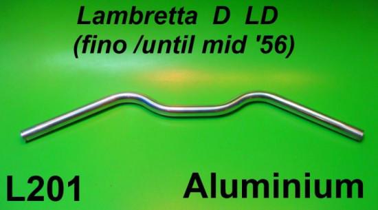 Aluminium handlebar Lambretta D + LD