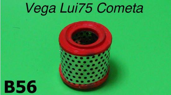 Air filter cartdridge Lambretta Vega + Cometa + Lui 75S/SL
