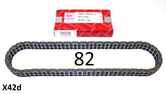 Transmission chain IWIS 82 link (VERY high quality)