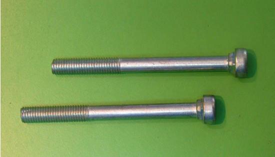 pair of single saddle main spring bolts Lambretta S1 S2 S3
